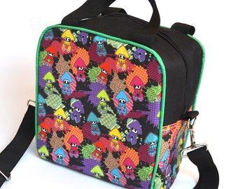 Ink splats lunch box / lunch bag