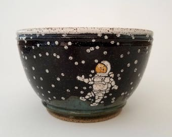 Astronaut Cereal Bowl
