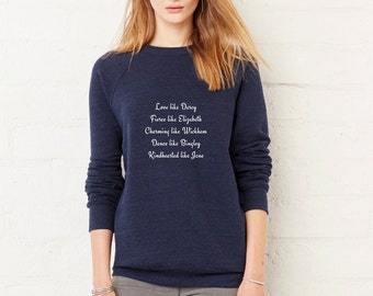 Pride and Prejudice Sweatshirt | Mr. Darcy Bennet Jane Austen gift |  | Bookworm  Book quote Inspirational Woman Christmas Gift For Him Her