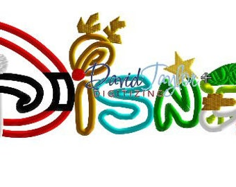 1 dollar design on our website***Disney Christmas Holiday - Embroidery Machine Design-Applique - Instant Download - David Taylor Digitizing