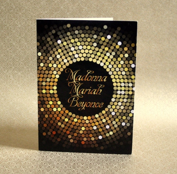Funny birthday card disco diva birthday card for friend like this item bookmarktalkfo Images