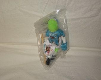 vintage 1995 mcdonalds nhl 12 inch kermit plush doll