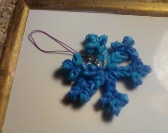 pretty snowflake, strap or phone accessory