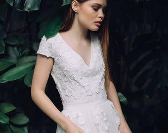 Dress FW16 | Wedding dress Boho wedding dress Romantic Wedding Dress vintage wedding dress elegant wedding gown