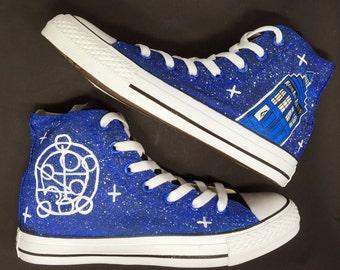 Dr Who Converse Tardis Shoes