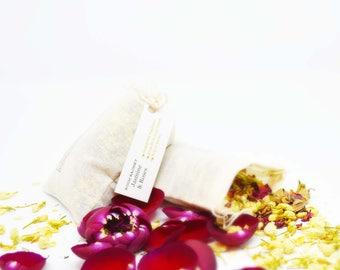 5 Jasmine Roses Natural Aromatherapy Sachets