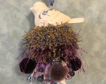 NEW - I'm a Little Bit Purple Bird Tassel