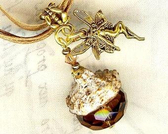 SCENT ❀ EUCALYPTUS ❀ H199 Crystal fairy pendant