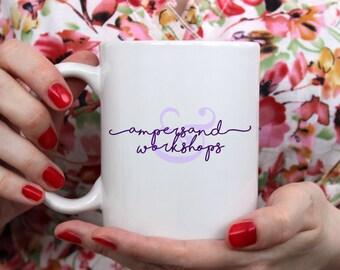 Ampersand Workshops Logo Mug