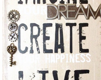 Imagine Create Live journal