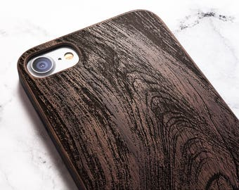 Wood iPhone case - gifts for him also for X SE 5s 5 6 6s 7 and 7 Plus 8 Plus Case iPhone 8 Case Samsung Galaxy S6 S7 S8 Plus Real Wood