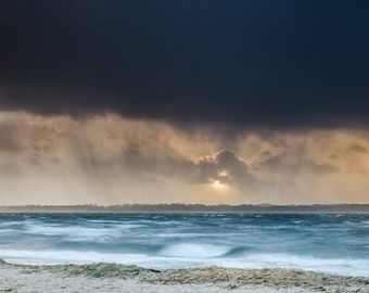 Winter Storm above the Firth - Fine Art Landscape Photography Print