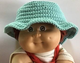Baby blue sun hat / bucket hat