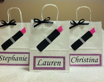 Bridesmaid giftbags set of 6