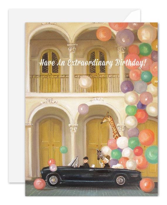 Old Town. Birthday Card. SKU JH1123