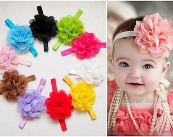 SET 10  Baby Headband, Lace Headband, Baby girl Headband, newborn headband, vintage headband toddler fabric headband