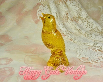 Avon Canary Cologne Bottle, Vintage Avon Canary Perfume Bottle, Vintage Avon Yellow Canary Charisma Perfume Bottle, Bird Perfume Bottle Gift