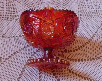 Aztec Pattern Smith Glass Candy Dish