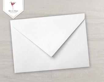 Iridescent white envelope