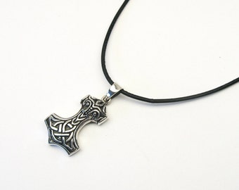 Thor Celtic Gold Mjöllnir Thors Hammer Thorshammer