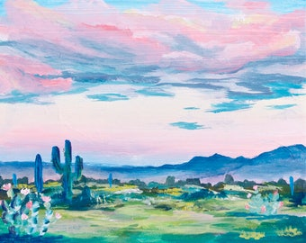 Anza-Borrego Desert at Sunset