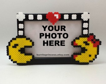 Pac Man Couples Picture Frame