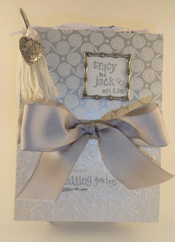Wedding card holder greeting card caddy mini album save like this item m4hsunfo Choice Image