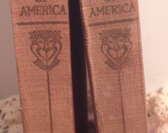 RESCUE ME BOOKS 2 Volumes, 8 and 9 of The Wit and Humor of America, 1911, Humorous Stories and Poems of Famous Writers.