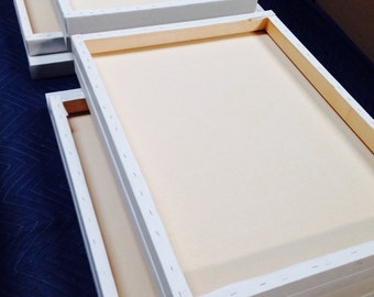 Hand made primed artist canvas FREE SHIPPING.