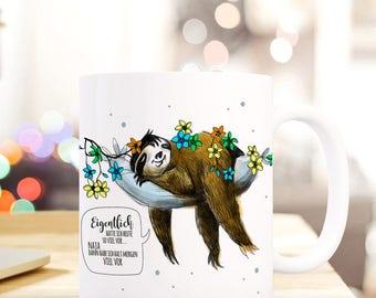 Gift coffee cup sloth sloth TS286
