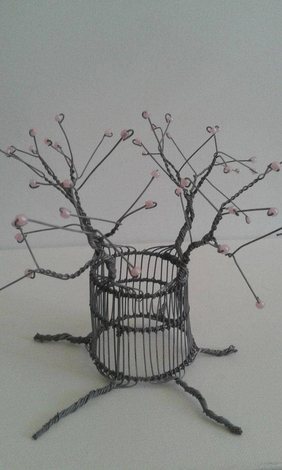 BAOBAB-Baum aus Afrika handgefertigte aus Draht und Perlen