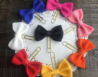 Textured Bow Planner Clip