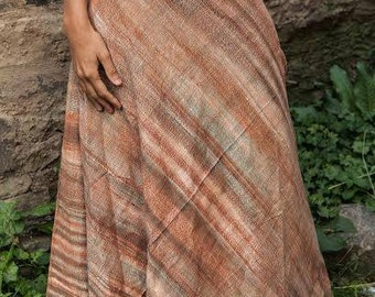 From the Earth khadi cotton Wrap Skirt