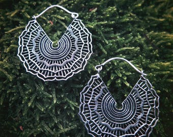 Playing Shakti Silver Plated Earrings