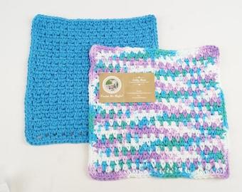 Sets of 2 - Large Washcloths