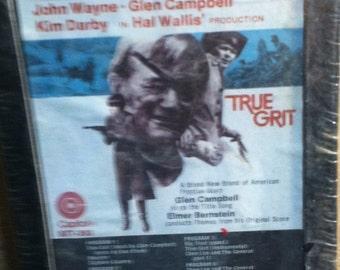 True Grit John Wayne Sealed Soundtrack 8 Track Tape