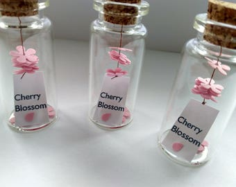 LIMITED! Cherry Blossom- Sakura- Japanese Cherry Blossom- Keepsake- In a Bottle- Seasonal- Gift for Her- Home Decor- Home Gift