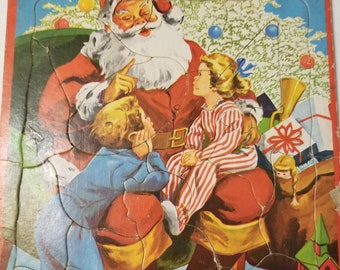 Vintage Santa Jigsaw Puzzle