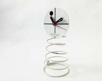 Time TABLE Square vintage 1970's clock