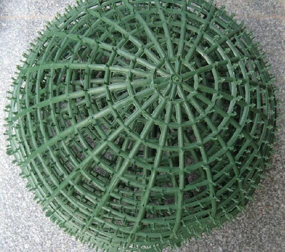 20cm plastic ball artificial flower ball rack kissing ball mightylinksfo
