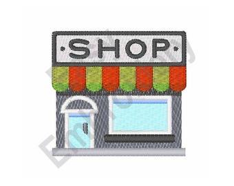 Department Store - Machine Embroidery Design
