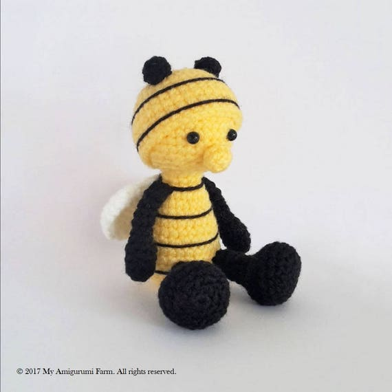 Modern Crochet Bee Pattern Pictures Sewing Ideas
