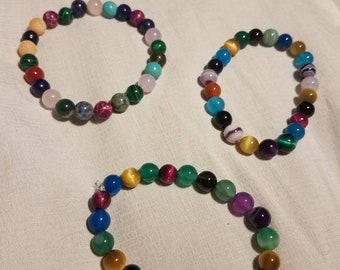 Grab bag bracelets - random gems!