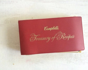 Vintage Campbell's Treasury of Recipes Booklet
