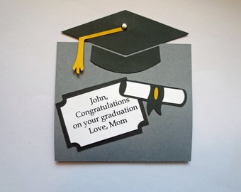 Graduation Personalized Gift Card Holder for 2018 Grads