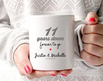 eleventh wedding anniversary gifts