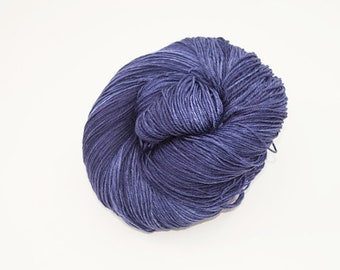 Hand-dyed yarn - Merino/Nylon 4ply  - 100g - Navy