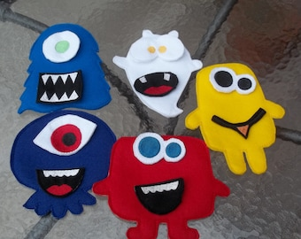 Build A Monster  Game :  Monster Faces , Funny Faces , Pretend Play .