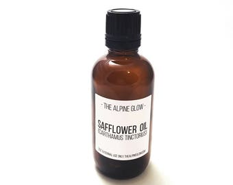 Safflower Oil - High Linoleic - Vegan Skincare - Natural Skincare - Oil Cleansing -  Non-Comedogenic - Facial Oil - Acne Cleanser