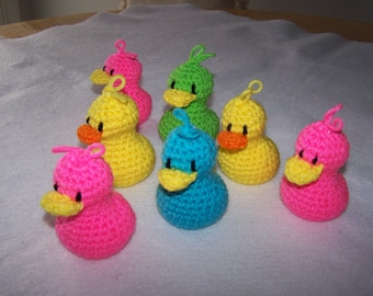 AMIGURUMI CROCHET Version of rubber DUCKY you're the one!